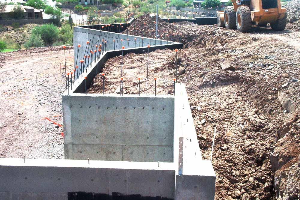 Concrete Basement Wall Design : Design concrete slab for garage best cars